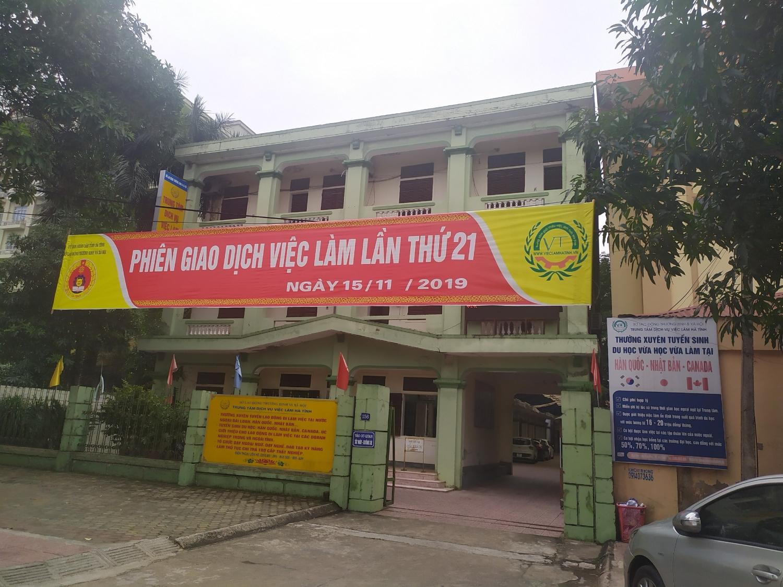 Tổ chức phiên Sàn giao dịch việc làm định kỳ lần thứ 21 ngày 15/11/2019 tại T.p Hà Tĩnh